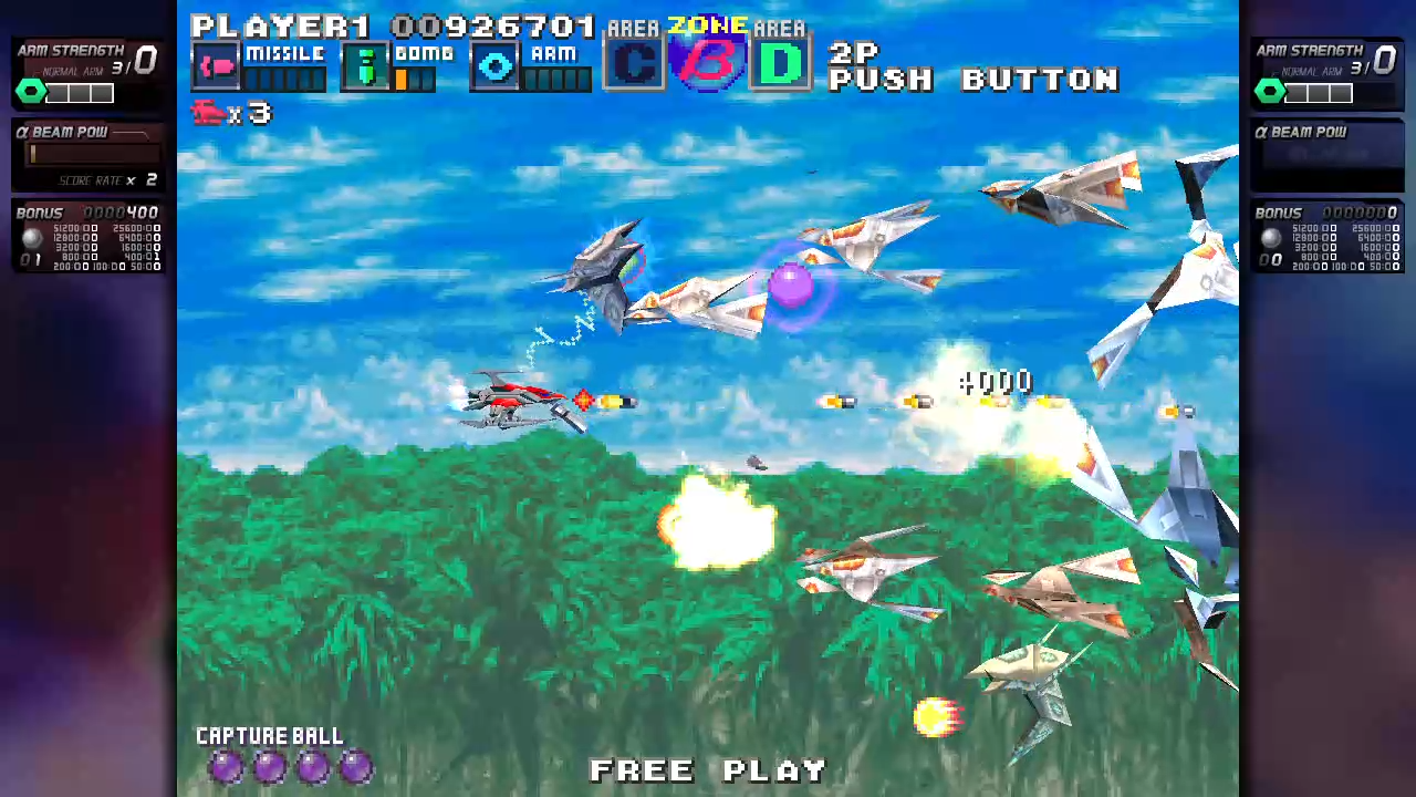 Shoot 'em up remaster G-Darius HD announced for PS4 and Switch - Final Weapon